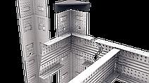 Стеллаж Бюджет (2000х1000х400) крашенный, СИНИЙ, на зацепах, 5 полок, ДСП, 175 кг/полка, фото 3
