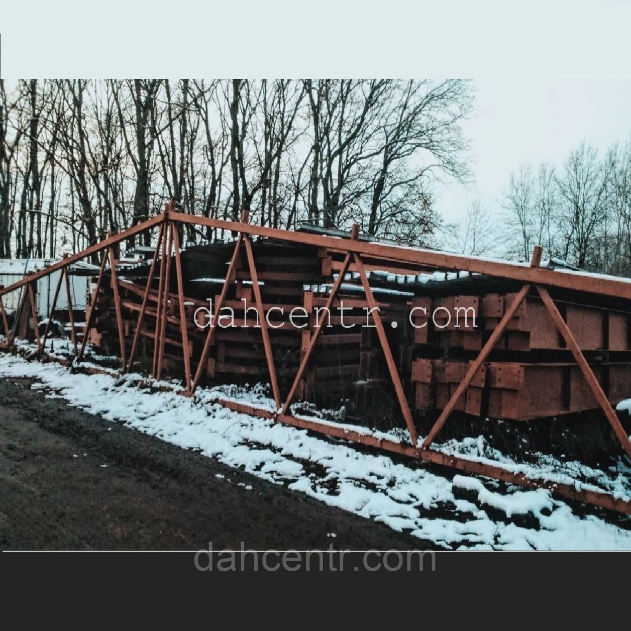 Ангар 24х42х5 двухскатний склад под бизнес ( для зерна, промышленные и тд), фото 1