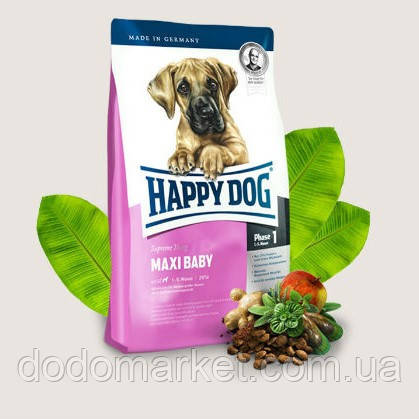Сухой корм для щенков Happy Dog Supreme Maxi Baby 15 кг