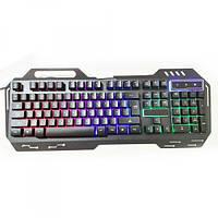Клавиатура компьютера с подсветкой USB MHZ GK-900 KW 900 Black