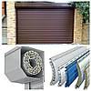 Ворота роллетные в гараж, Размер 2900х2200 мм, алюминиевые автоматические, фото 7