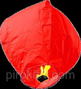 Небесный фонарик купол красный