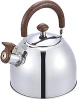 Чайник из нержавеющей стали со свистком Benson BN-712