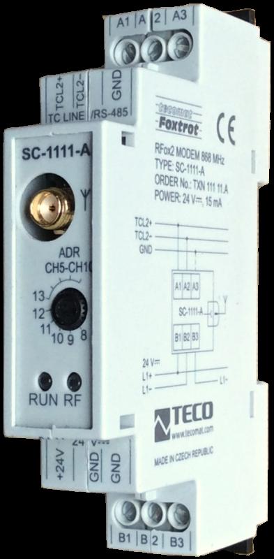 Коммуникационный модуль для беспроводной передачи SC-1111.A