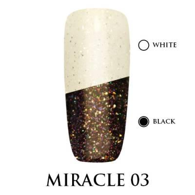 Miracle top Adore Professional без липкого слоя 7,5 мл №3