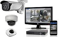 Установка, монтаж систем видеонаблюдения, видеокамер в Киеве и Киевской области