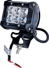 LED фара рабочего света 18W/30 (6x3W) 1380 Lm узкий луч