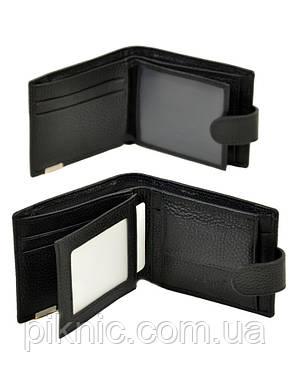 Кожаный мужской кошелек  Bretton. Black Edition, фото 2