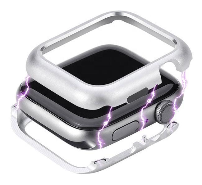 Металлический магнитный корпус Primo для Apple Watch 42 mm - Silver
