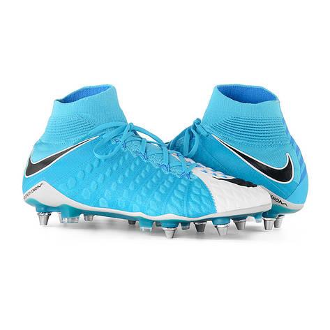 Бутси Бутсы Nike Hypervenom Phantom 3 DF SG-Pro 852553-104(01-07-11) 44.5, фото 2