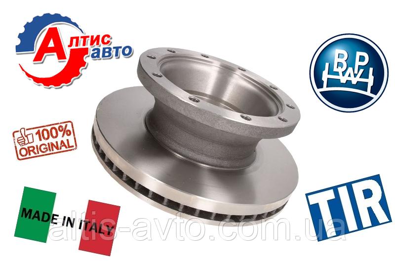 Тормозной диск ROR, SAF, BPW, Schmitz, Kogel, Krone полуприцепы
