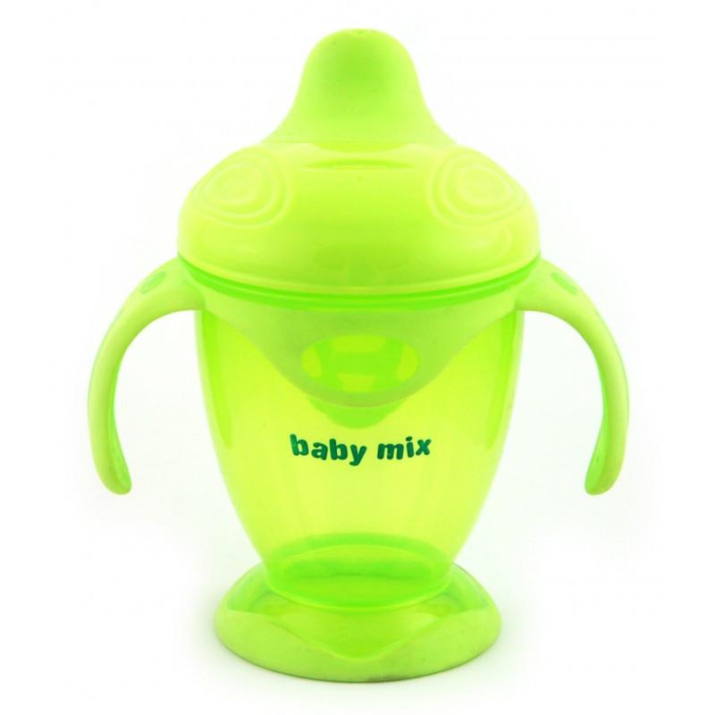Поильник-непроливайка (200 мл) Baby Mix RA-C1-1711 green