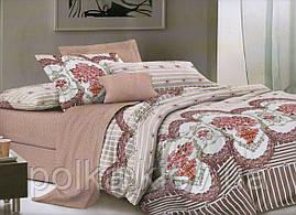 Комплект постельного белья евро-размер № 516
