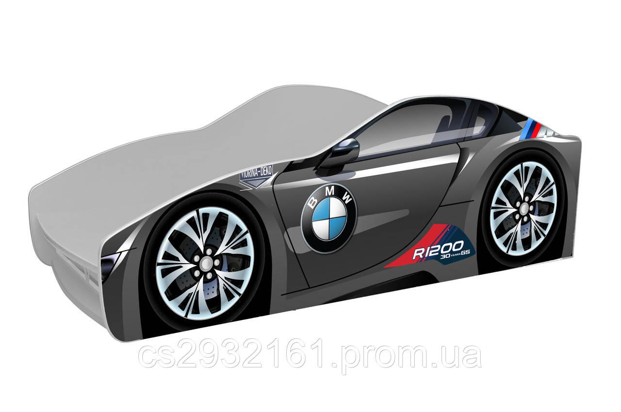 Кровать машина BMW Детская кровать машина BMW Серия Brand