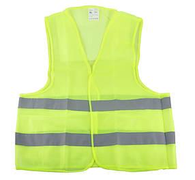 Світловідбиваючий Жилет безпеки (зелений) WINSO XL 149100