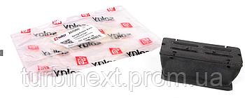 Подушка рессоры (передней/нижняя) MB Sprinter 96- (пластик) (L) SOLGY 201060
