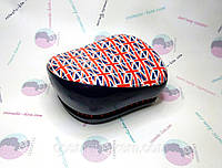 Расческа для мокрых, запутанных волос 002  compact британск.флаг