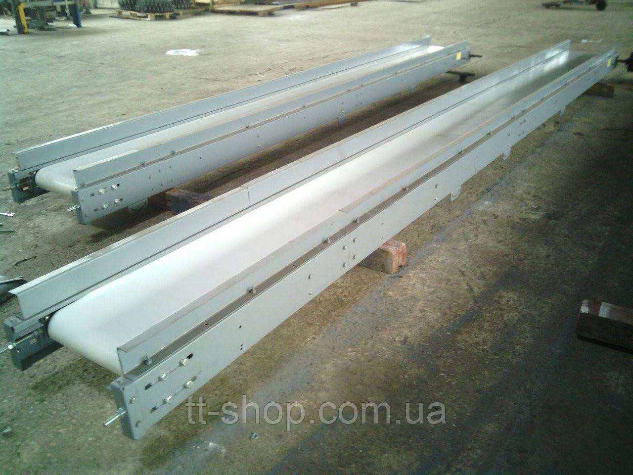 Ленточный конвейер ширина 200 мм 10 метров мотор-редуктор 0,75 кВт