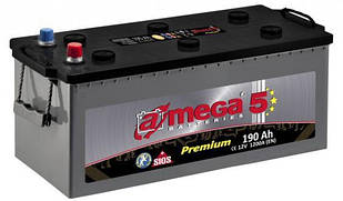 Аккумулятор 6СТ-190 А3  Евро A-MEGA PREMIUM (M5)