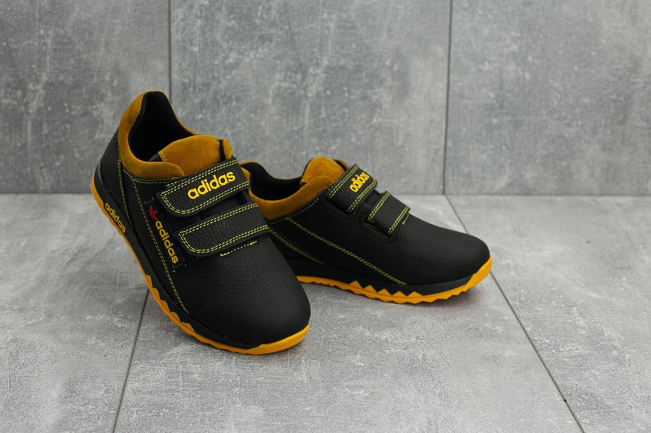 b74c0c75 Кроссовки CrossSAV 39L (Adidas) (весна-осень, детские, кожа, черно ...