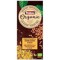 Шоколад с сезамом и пыльцой Torras Organic, 100г