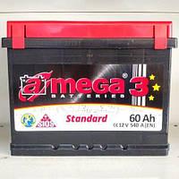 Аккумулятор 6СТ-60 А3 Евро A-MEGA Standard (М3)