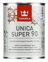 Уретано-алкидный лак Tikkurila Unica Super 90 (глянцевый) 0,9 л