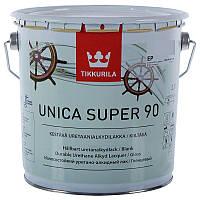 Уретано-алкидный лак Tikkurila Unica Super 90 (глянцевый) 2,7 л