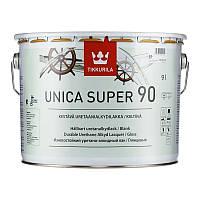 Уретано-алкидный лак Tikkurila Unica Super 90 (глянцевый) 9 л
