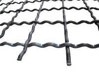 Сетка канилированная (мет.) ячейка 13х13 мм Ф2мм,размер карты 1х2м