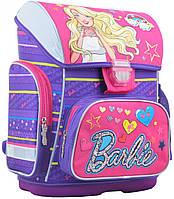 2cdc5106e463 Школьный каркасный ранец YES SCHOOL 30х40х16 см 19 л для девочек H-26  Barbie (