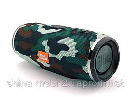 JBL mini Charge 3 16W копия, портативная колонка с Bluetooth FM MP3, Squad камуфляжная, фото 3