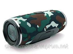 JBL mini Charge 3 16W копия, портативная колонка с Bluetooth FM MP3, Squad камуфляжная, фото 2