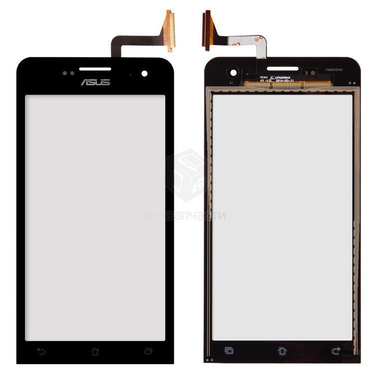 Сенсорний екран для смартфону Asus A500CG Zenfone 5, чорний