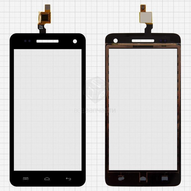 Сенсорный экран для смартфона BLU Studio D534, черный