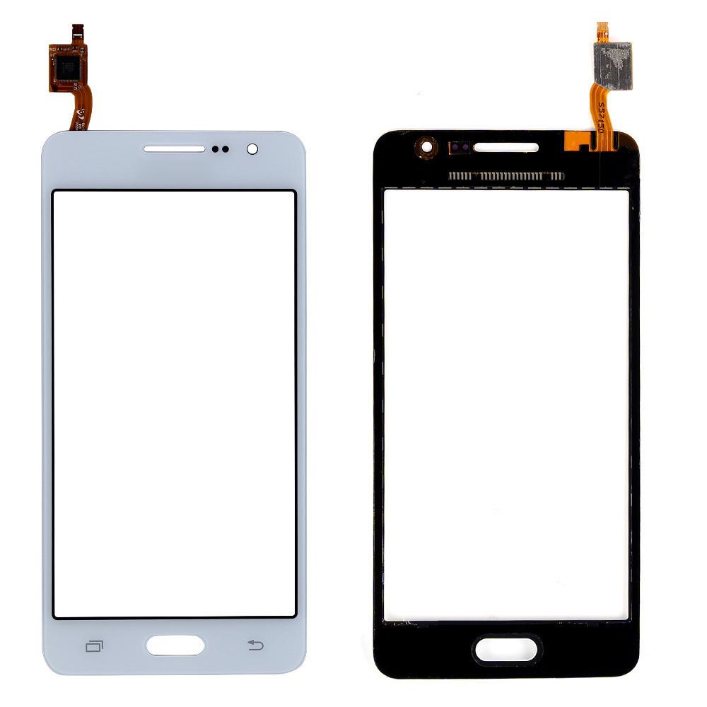 Сенсорний екран для смартфону Samsung J100H/DS Galaxy J1, чорний