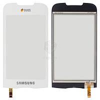 Сенсорний екран для смартфону Samsung B7722i, білий