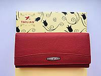 Женский кошелёк из натуральной кожи, Tailian
