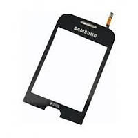 Сенсорний екран для смартфону Samsung C3312, чорний