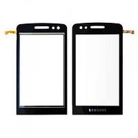 Сенсорний екран для смартфону Samsung M8800, чорний