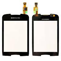 Сенсорний екран для смартфону Samsung S5570 Galaxy Mini, чорний