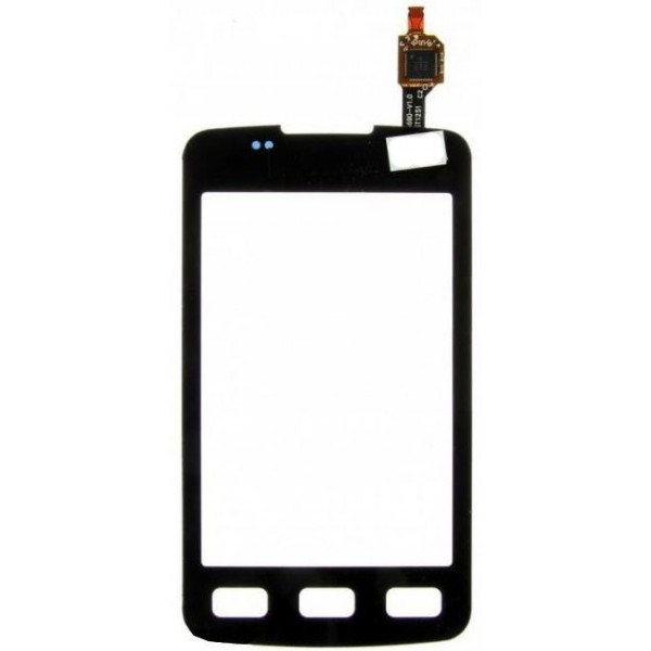 Сенсорний екран для смартфону Samsung S5690 Galaxy Xcover, чорний