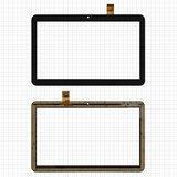 """Сенсорний екран для планшету Nomi c10104 Terra S 10"""" 3G, 10,1"""", 156 мм, 247 мм, 30 pin, чорний, #RP-400A-10.1-FPC-A3 SLR"""