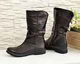 """Женские кожаные демисезонные ботинки на байке от производителя  ТМ """"Maestro"""", фото 4"""