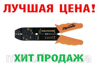 Щипцы, 210 мм, для зачистки электропроводов и обжима контактных клемм, 1,5–6,5 мм// SPARTA 177505