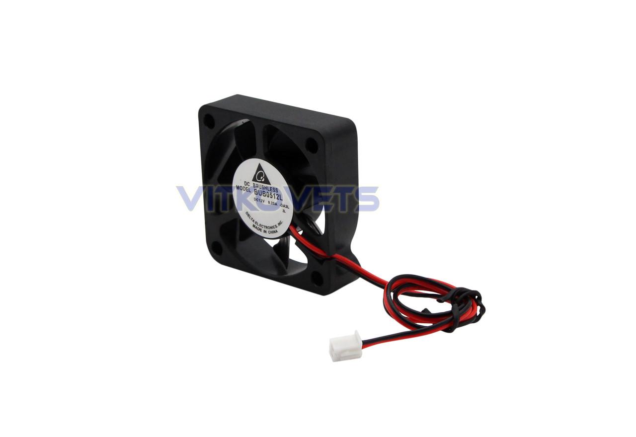 Вентилятор (кулер) 50х50, 12V, 0.20A