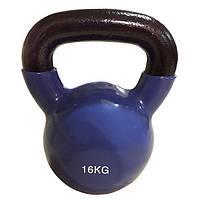 Цветная виниловая гиря Rising 16 кг, фото 1