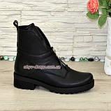 Стильные демисезонные полуботинки на маленьком каблуке, фото 2