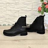 Стильные демисезонные полуботинки на маленьком каблуке, фото 4