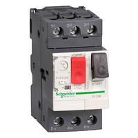 Автоматичний вимикач 0.1 - 0.16A захисту двигуна GV2ME01